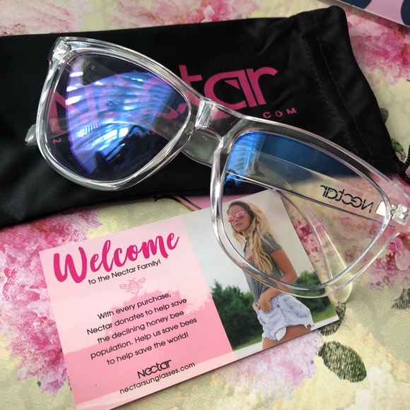 446132142a 🦇Nectar Blue Light Blocking Glasses Clear